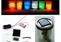 PSL7: Solar LED jar light-Advaced