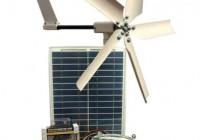 PEL8: 50 Watt Hybrid Wind & Solar System
