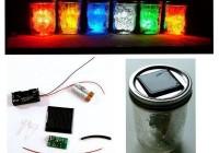PSL7: Solar LED jar light-Advaced